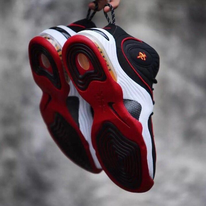 Nike air - 2 ii i miami heat 14 rosso oro bianco lebron lebron james wade