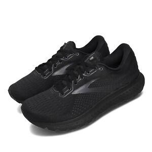 Brooks-Glycerin-18-2E-Wide-Black-Grey-Men-Running-Shoes-Sneakers-110329-2E