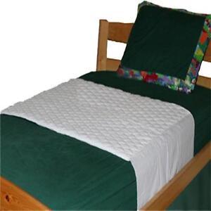 toddler bed mattress pad Toddler/Twin Waterproof Saddle Style Bed Mattress Pad for Potty  toddler bed mattress pad