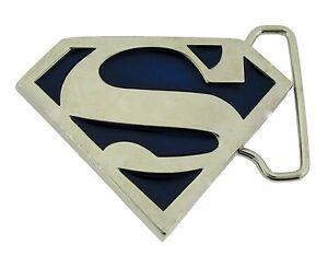 a20a9d7f5e9 Image is loading DC-Comics-Superman-Belt-Buckle-Usa-American-Superhero-