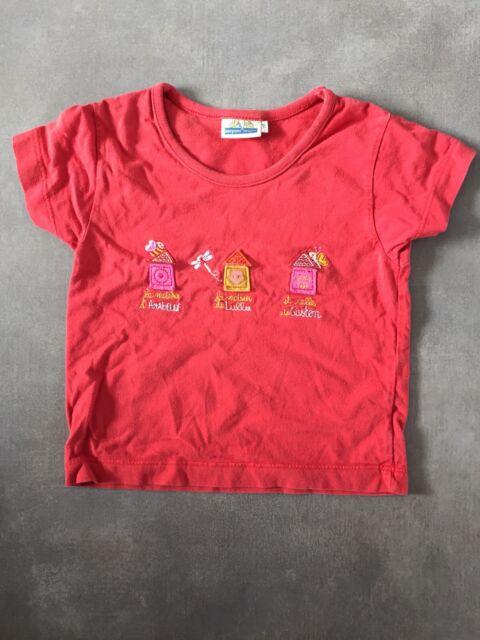 T-shirt manches courtes rouge taille 4 ans SERGENT MAJOR