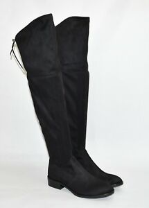 74eb7467dd7e15 New! Sam Edelman  Paloma  Over the Knee Black Suede Boots Size 7.5 ...