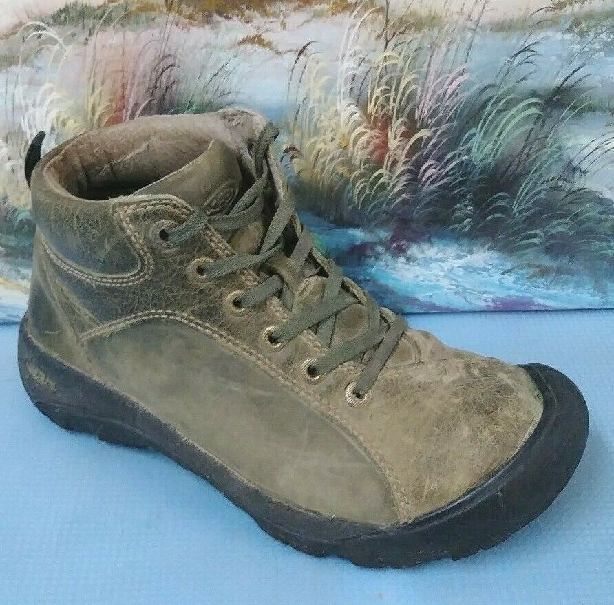 KEEN Womens size 6.5 G   Hiking Boots Leather Suede XT 0506  factory outlet online discount sale