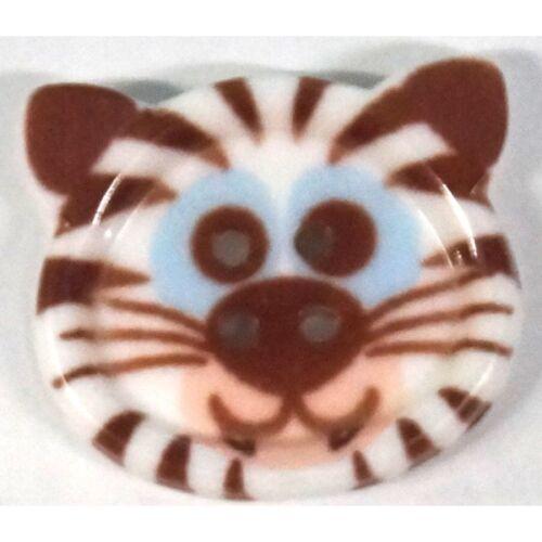 Sbottonati Novità Animale A forma di cucire tramite i pulsanti CANE GATTO anatra maiale Bear