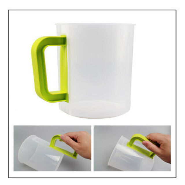 1.5L Food Grade Plastic Non-Toxic Pitcher Set including Filter Cup Rod Brush