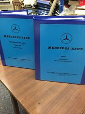 Mercedes 190 SL Ponton Workshop Instruction Manual Service Repair Technical
