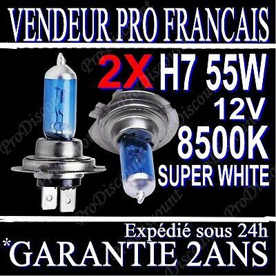 Vauxhall Vivaro 55 W Bleu Glace Xenon HID Avant Ampoules Anti-Brouillard Paire