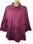 thumbnail 1 - George Women's Blouse Plus 18W/20W Cotton 3/4 Sleeve Button Down Shirt