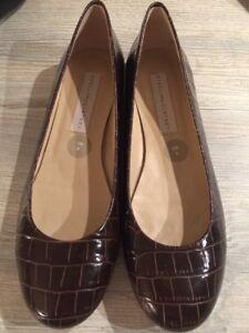 Mccartney Croc piatte Brown da taglia Scarpe 39 donna Moc 6 Ballet Stella gI7f7nwq