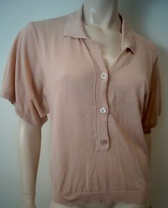 42 Knitwear Jumper Coral Pale 100 Uk12 Pink Cotton Stella Top Mccartney Sweater 0npvWq7nH