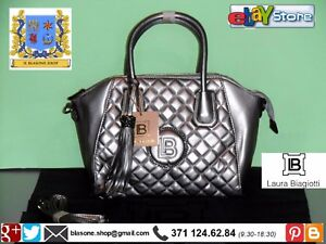 New A Laura i Fashion Biagiotti Silver Donna Gun Novità Rarity Shopping Borsa wIfpqYp