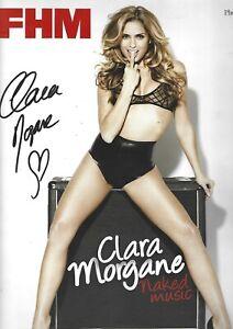 Calendrier Clara Morgane Annee 2010 Dedicacee Par Clara Morgane -original Bonne RéPutation Sur Le Monde