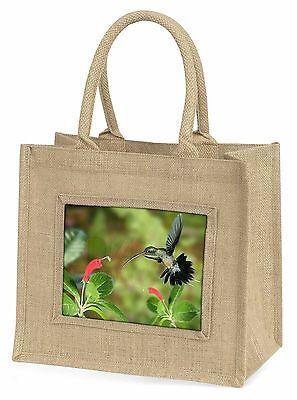 grün Einsiedler Kolibri Große natürliche jute-einkaufstasche weihnachten-gi,