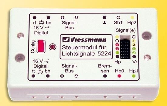 Viessmann 5224 Digital Modulo fiscale per segnali di luce