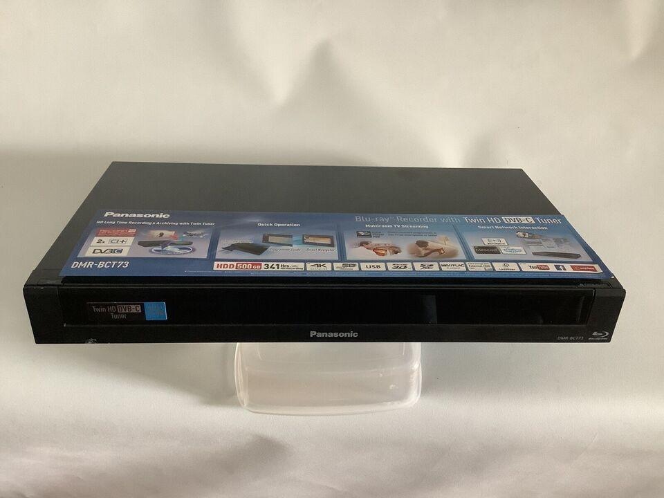 Panasonic, Blu-Ray, Harddisk/dvd-optager