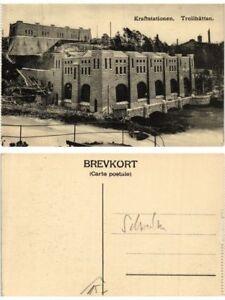 CPA Trollhätten Kraftstationen. SWEDEN (416610) kxVCEtL4-09155355-101597768