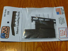 AM Models HO #118 Short Loading Dock -- Kit (Plastic)