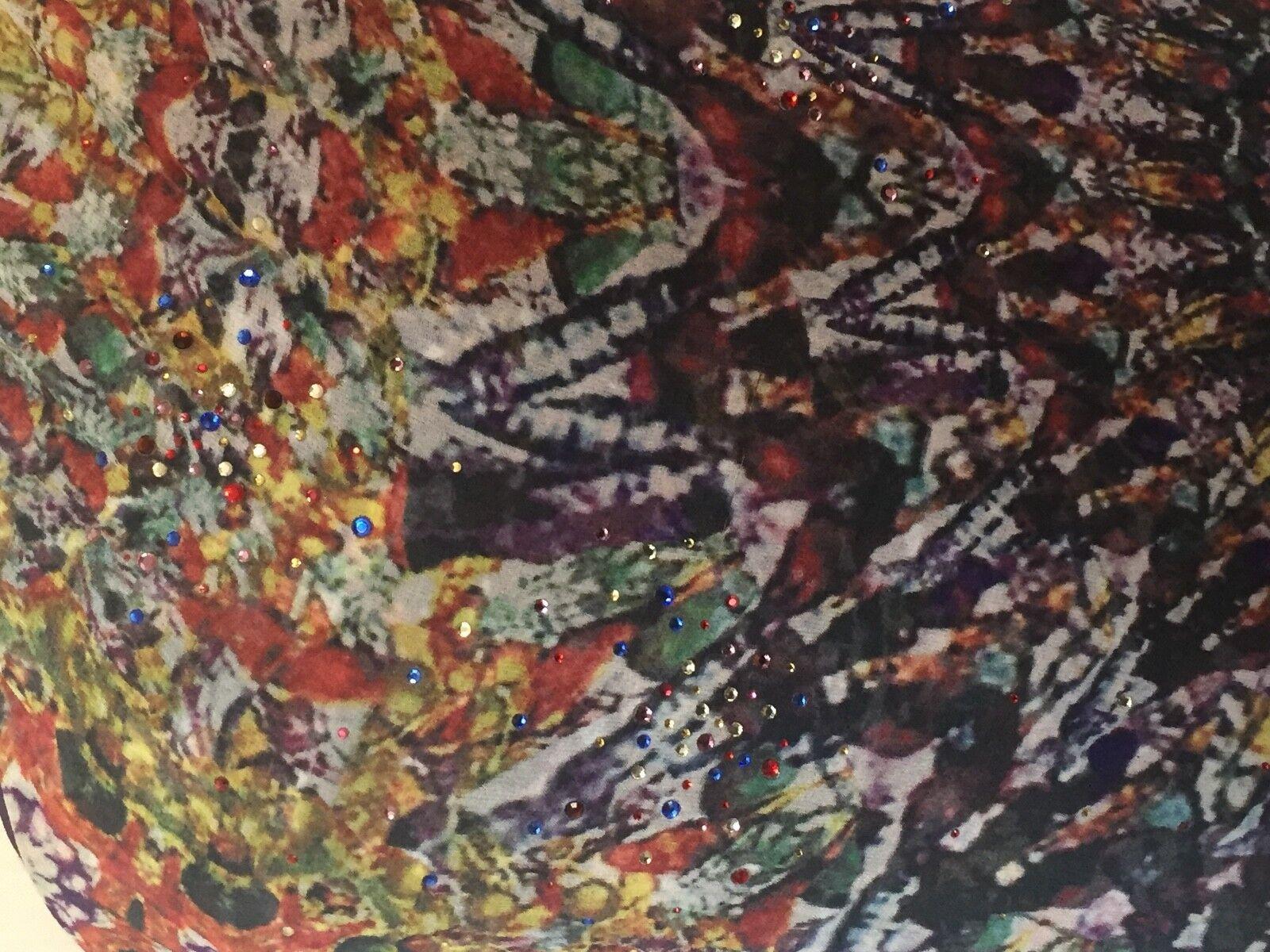 c38d493d8d ... Never Never Never worn Designer MALANDRINO One Sleeve Silk Dress 40 6 8  Aus 147391 ...