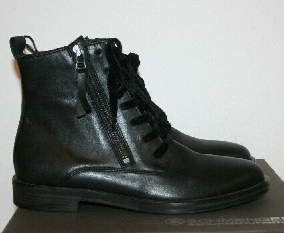Kennel und Schmenger Stiefelette schwarz Glattleder Gr.37,5