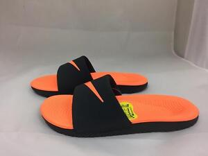 599598165d82 Image is loading NEW-JUNIORS-NIKE-KAWA-SLIDE-819352-002
