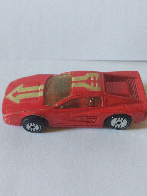 Más asequible 1986 1986 1986 Hot Wheels Ferrari TeEstrellaossa turbo Trax Glo Set Excl muy difícil de encontrar brillan en la oscuridad  vendiendo bien en todo el mundo