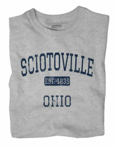 Sciotoville Ohio OH T-Shirt EST