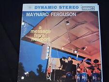 Maynard Ferguson - A Message From Newport