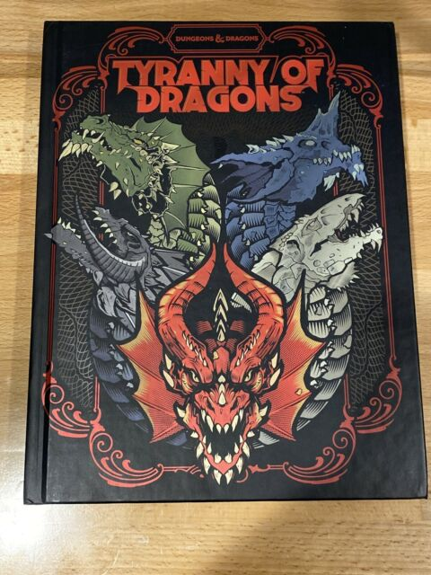 Dungeons & Dragons D&D 5E Tyranny of Dragons Campaign Book - New