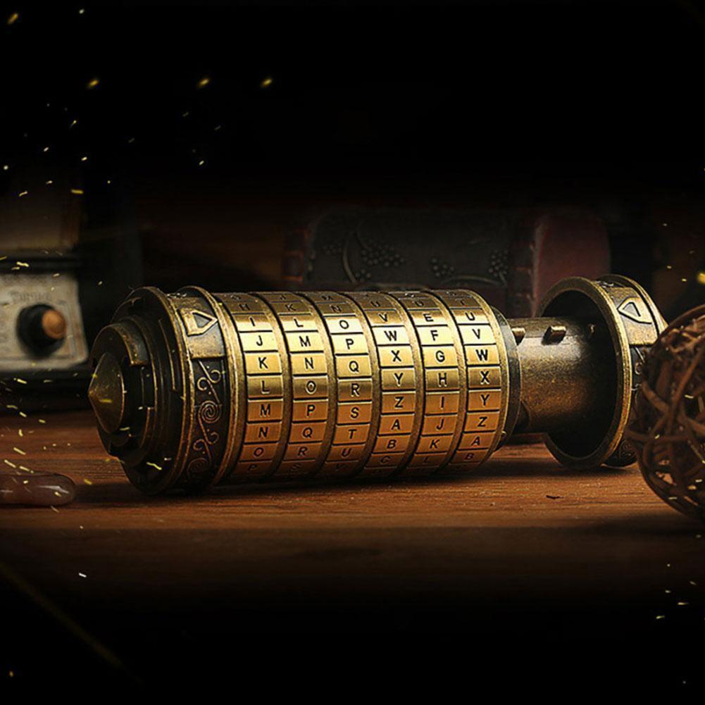 Da Vinci Code Creative Mini Cryptex Valentine's Day Gifts Hider New Type