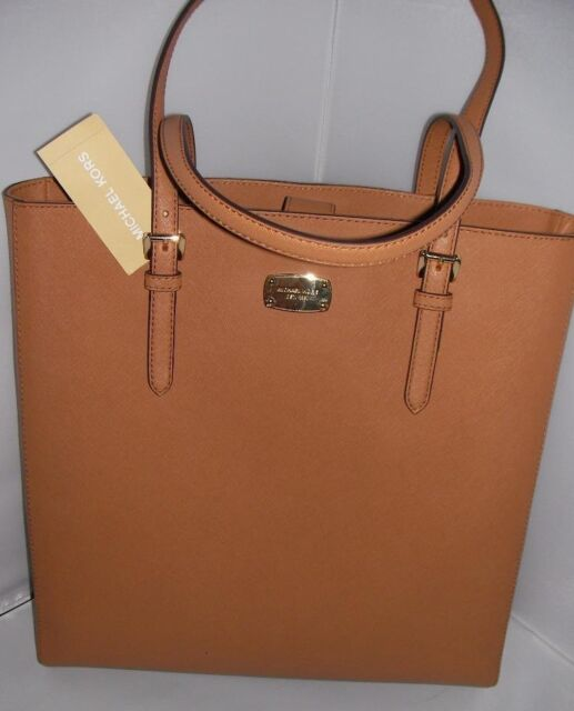 f231613e1e9 NEW MICHAEL KORS LADIES LEATHER LARGE JET SET TRAVEL SAFFIANO N S TOTE  HANDBA AG