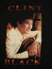 Clint Black One Emotion World Concert Tour Texas Country Music Print T Shirt XL