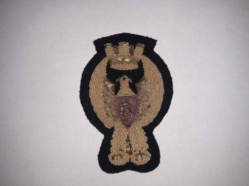 Policia de Stato Polizei Italien handgestickt Mützenabzeichen