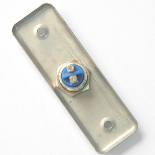 Stainless Steel Slim Exit Push Release Button For Access Control Door Switch Kit