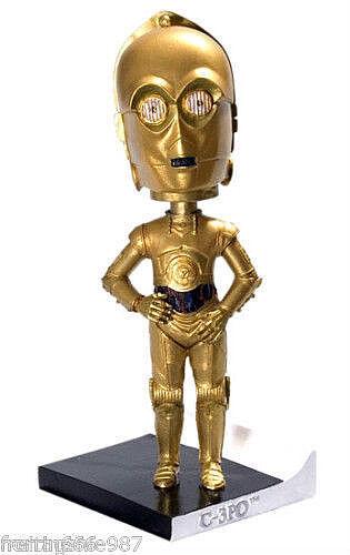 STAR WARS C-3PO  resin headknocker 18cm Cards Inc
