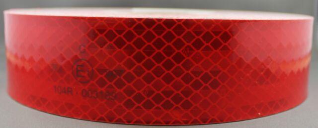 3M Red (997-72) DiamondGrade Class 1 Flexible Reflective Tape 50mmx5m