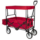 Best Choice Products Folding Garden Utility Travel Cart