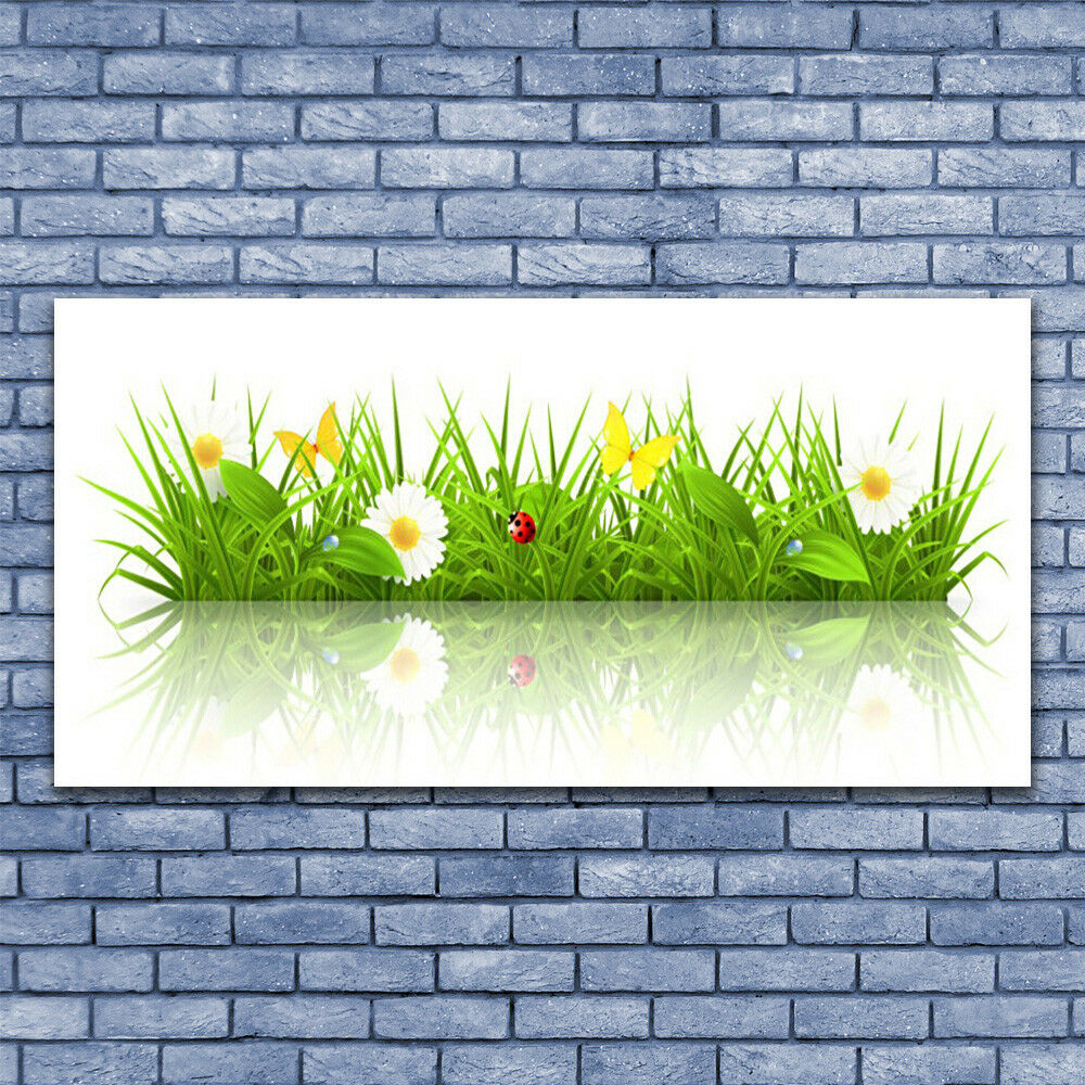 Glass print Wall art 140x70 Image Picture Picture Picture Grass Nature d1aef5
