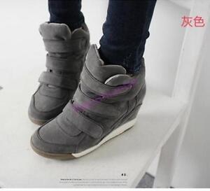 eleganti Scarpe alto con donna scarpe tacco tacco da con ginnastica zeppa da alto con UETwqrnU