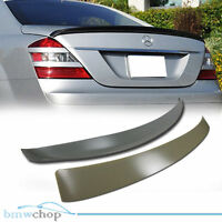 Mercedes Benz W221 Rear Roof + Boot Trunk Spoiler Wing S500 S350 S63