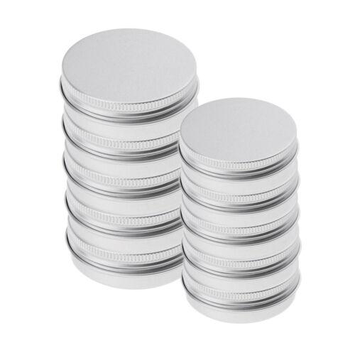 10 Stücke 5 Ml 15 Ml Aluminium Cremedose Leer Dose Blechdose Kosmetikdose