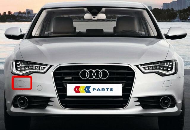 AUDI A6 C7 2012-2014 Front Bumper Cover with holes for headlight washers