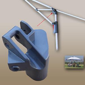 Coleman 12x12 Instant Eaved Shelter Canopy Gazebo Leg Cap