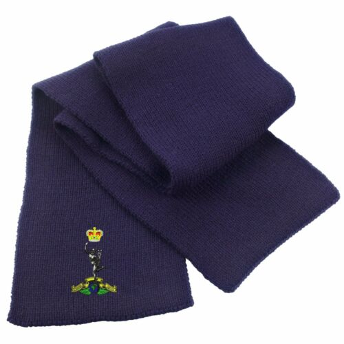 Royal Signals Heavy Knit Scarf