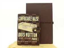 Louis Vuitton Authentic Damier Valise Agenda fonctionnel PM Diary cover Auth LV