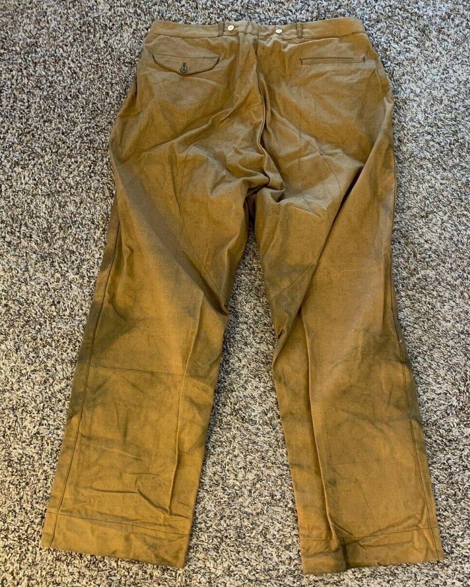 Vintage 1940's Hunting / Workwear Pants - Big Siz… - image 4