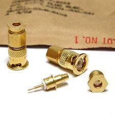 2x MIL-Spec HF Stecker 94375-G-4701-000-847, vergoldet