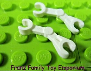 LEGO Lot of 2 White Minifig Cup Pieces