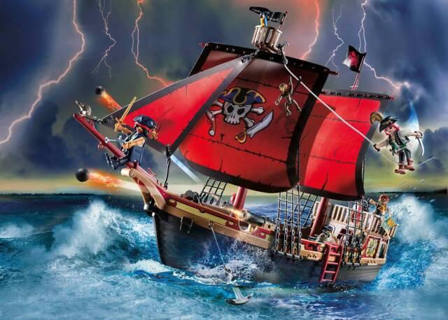 PLAYMOBIL® 70411 Skull Pirate Ship - NEW 2020 - S&H FREE WORLDWIDE