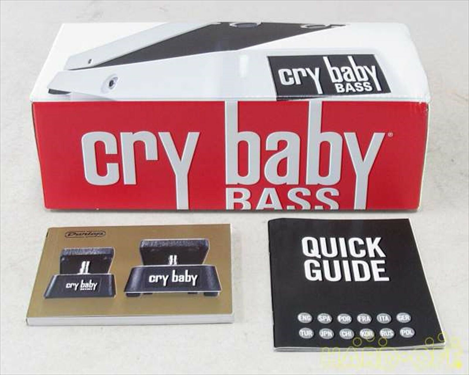 JIM DUNLOP GCB 105Q Bass Wah Wah Wah Crybaby Free Shipping from JAPAN 436947