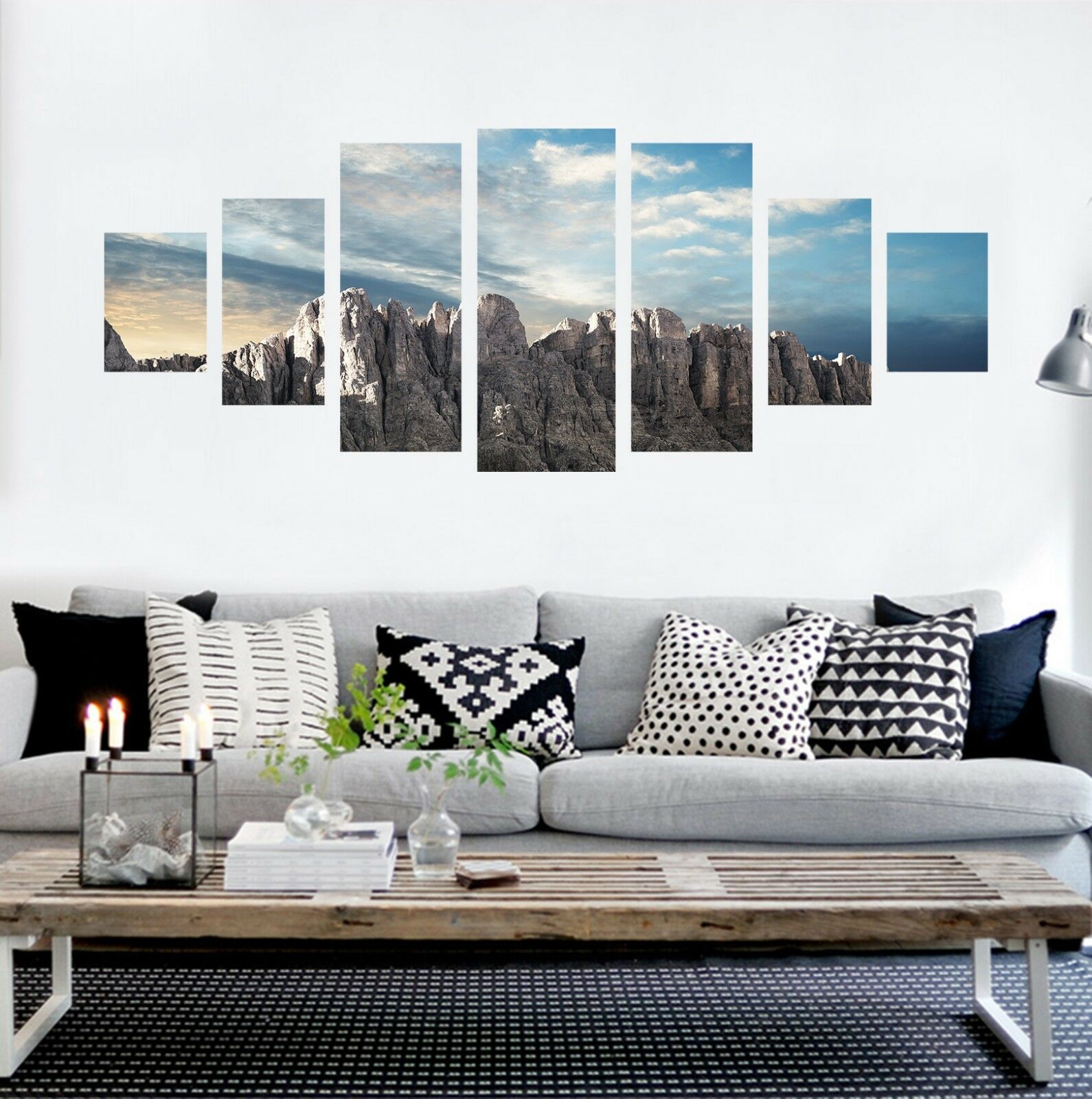 3D Mountain 769 Unframed Print Wall Paper Decal Wall Deco Indoor AJ Wall Jenny